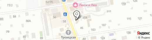 Банк Югра, ПАО на карте Всеволожска