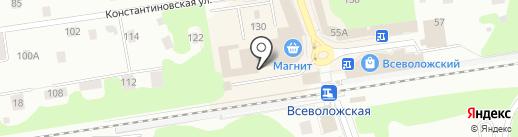 Фотостудия на карте Всеволожска