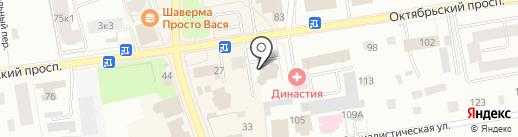 ВСК, САО на карте Всеволожска