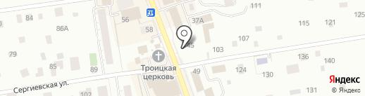 Белорусский домик на карте Всеволожска