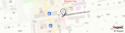 Женская консультация на карте Всеволожска