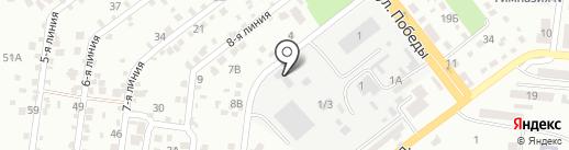 Пале на карте Ильичёвска