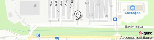 Автостоянка на карте Всеволожска