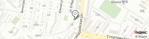 Arius на карте Ильичёвска
