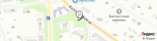 Вахрушев на карте Всеволожска