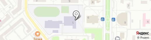 Средняя общеобразовательная школа №6 с углубленным изучением отдельных предметов на карте Всеволожска