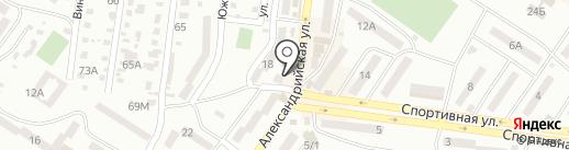 Нотариус Волошина Д.П. на карте Ильичёвска