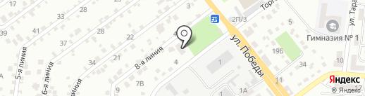 Церковь Евангельских Христиан-Баптистов на карте Ильичёвска