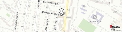 Сундучок на карте Ильичёвска