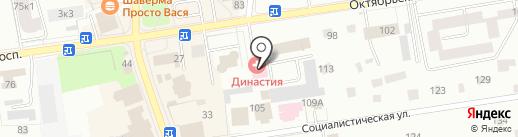 Новотера на карте Всеволожска