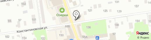 Киоск по ремонту обуви на карте Всеволожска