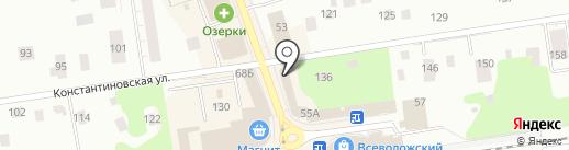 Tele2 на карте Всеволожска