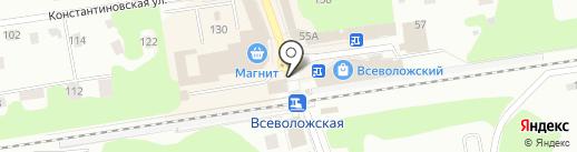 Платежный терминал на карте Всеволожска