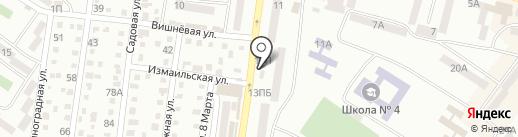 Феникс на карте Ильичёвска