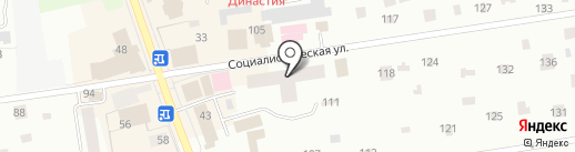 Дальпитерстрой на карте Всеволожска