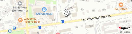 Отдел вневедомственной охраны Управления МВД РФ по Всеволожскому району на карте Всеволожска