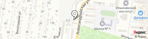 220V на карте Ильичёвска