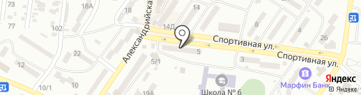 Нотариус Перчеклий И.Н. на карте Ильичёвска
