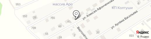КОЛТУШИ на карте Ара