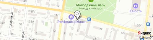 Мастерская по заточке парикмахерского и режущего инструмента на карте Ильичёвска