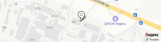 Фроузен Бери на карте Одессы