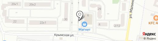 Магазин овощей и фруктов на карте Всеволожска