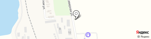 Компания международных автогрузоперевозок на карте Бурлачьей Балки