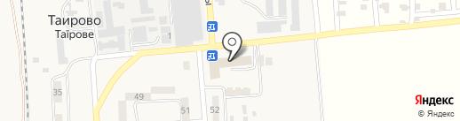 Антей на карте Таирово