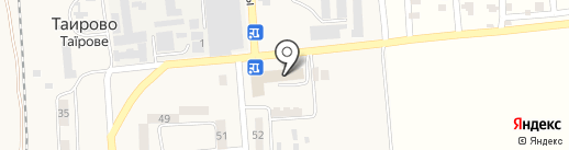Дванадцять курчат на карте Таирово