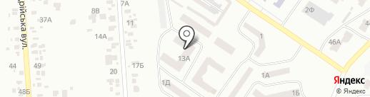 Монолит на карте Ильичёвска