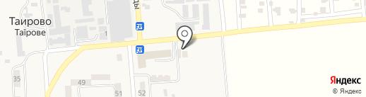 Русская баня на карте Таирово