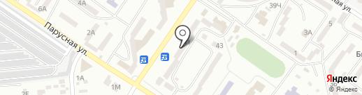 Модерн на карте Ильичёвска