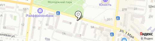 Avon на карте Ильичёвска