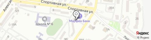 Віта-побут на карте Ильичёвска