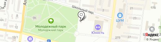 Маркиза на карте Ильичёвска
