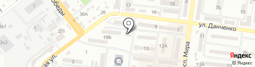 Фасад на карте Ильичёвска
