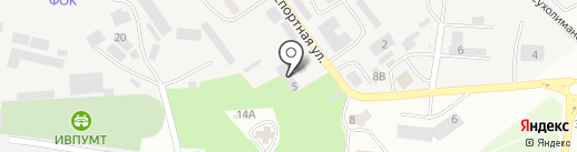 Бэт-Эль на карте Ильичёвска