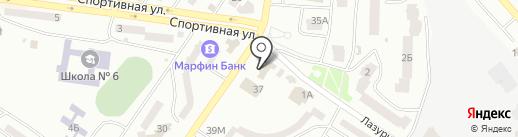 Diskoni на карте Ильичёвска