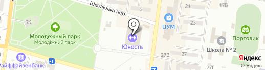 Тен Син Кан на карте Ильичёвска