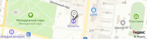 Эксклюзив на карте Ильичёвска