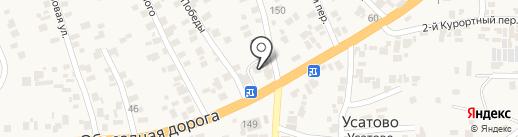 Ощадбанк, ПАТ на карте Усатово