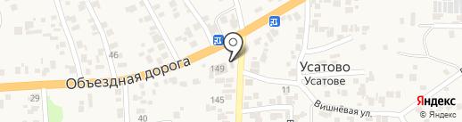 Капитал на карте Усатово