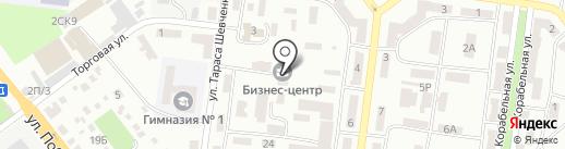 Пчелка на карте Ильичёвска