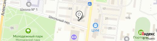 Диалог на карте Ильичёвска