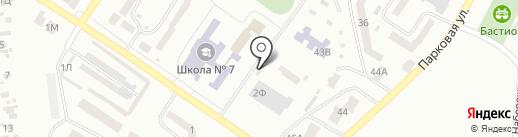 Валентина на карте Ильичёвска
