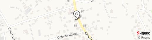 Укоопспілка на карте Усатово