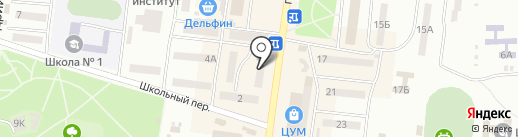 Банкомат, Райффайзен Банк-Аваль на карте Ильичёвска