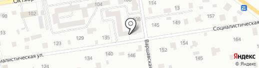Центральный квартал, ТСЖ на карте Всеволожска