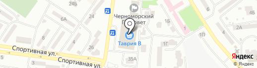 Кимс на карте Ильичёвска