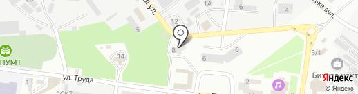 Бизнес-центр на карте Ильичёвска